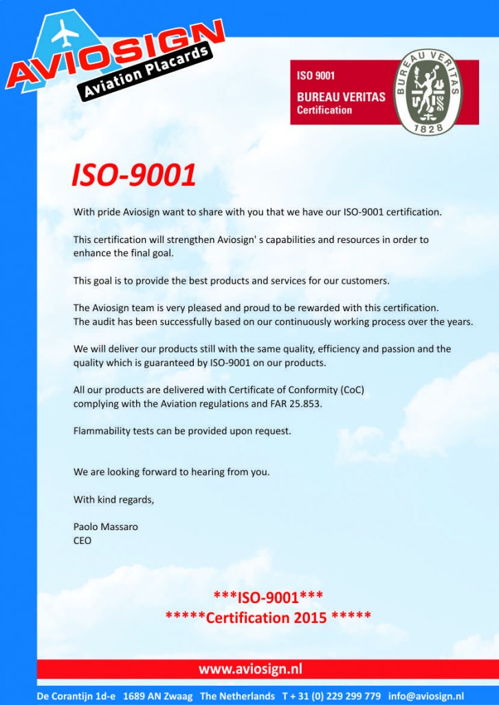 ISO-9001 site